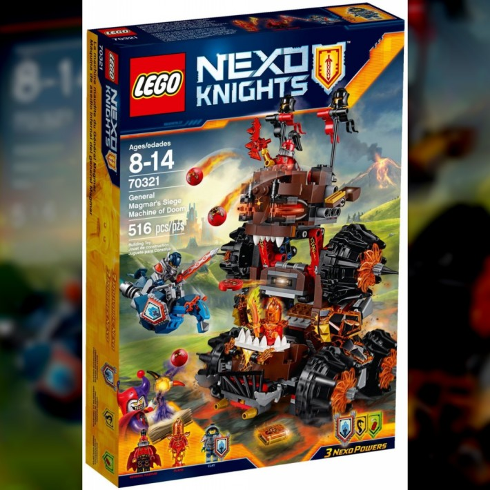 Nexo Knights Magmar Siege Machine 1